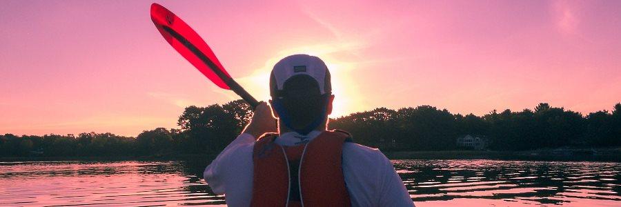 Canoë kayak dans la Meuse